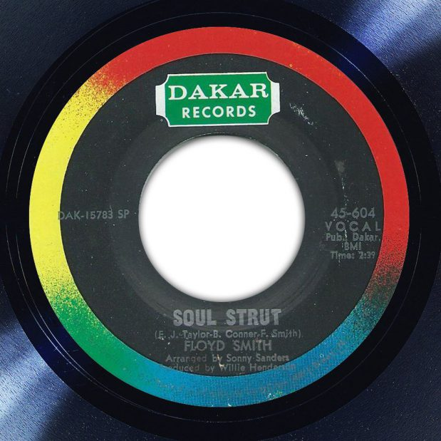 Floyd Smith Soul Strut Disk Label Song Of The Day The Face Radio