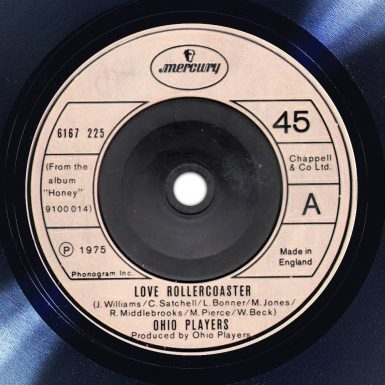 Ohio Players Love Rollercoaster Label The Face Radio Song of the Day