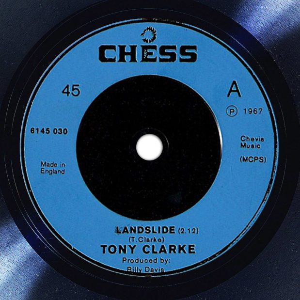 Tony Clarke Landslide Label The Face Radio Song of the Day
