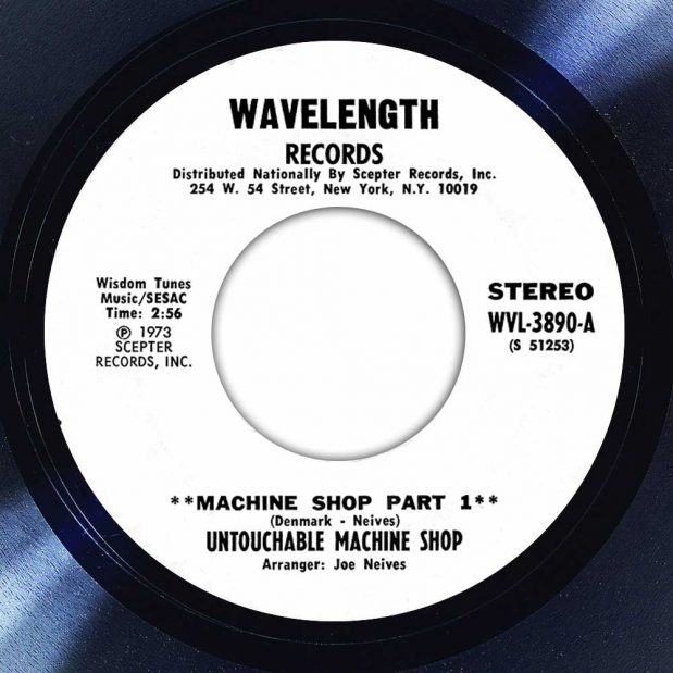 Untouchable Machine Shop Machine Shop Part 1 Disk Label Song Of The Day The Face Radio