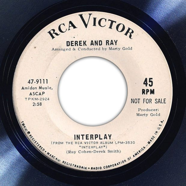 Derek and Ray Interplay Album Label The Face Song Of The Day