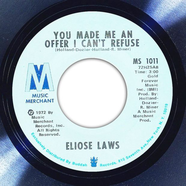 Elise Laws You Made Me An Offer I Can't Refuse Album Label The Face Song Of The Day