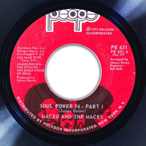 Maceo and the Macks Soul Power 74 Album Label The Face Song Of The Day