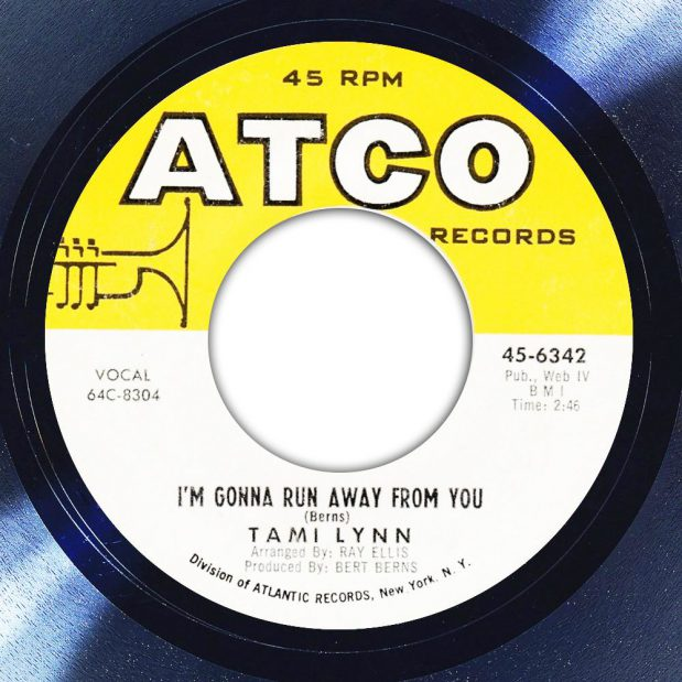 Tami Lynn I'm Gonna Run Away From You Label The Face Song Of The Day