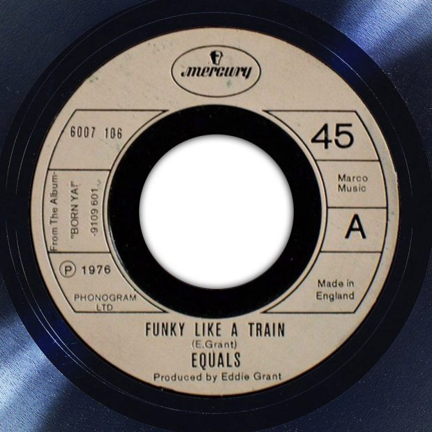The Equals Funky Like A Train Album Label The Face Song Of The Day