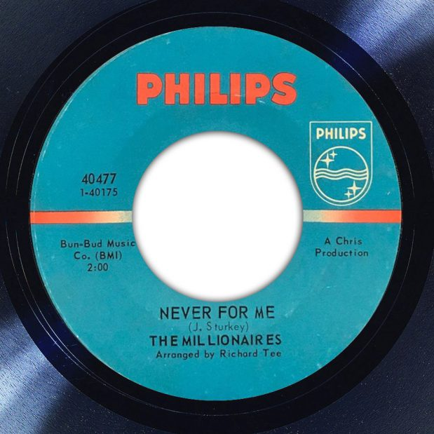 The Millionaires Never For Me Album Label The Face Song Of The Day