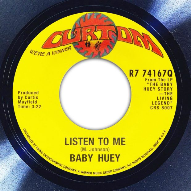 Baby Huey & The Babysitters Listen To Me Label The Face Song Of The Day