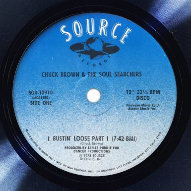 Chuck Brown And The Soul Searchers Bustin Loose Label The Face Song Of The Day