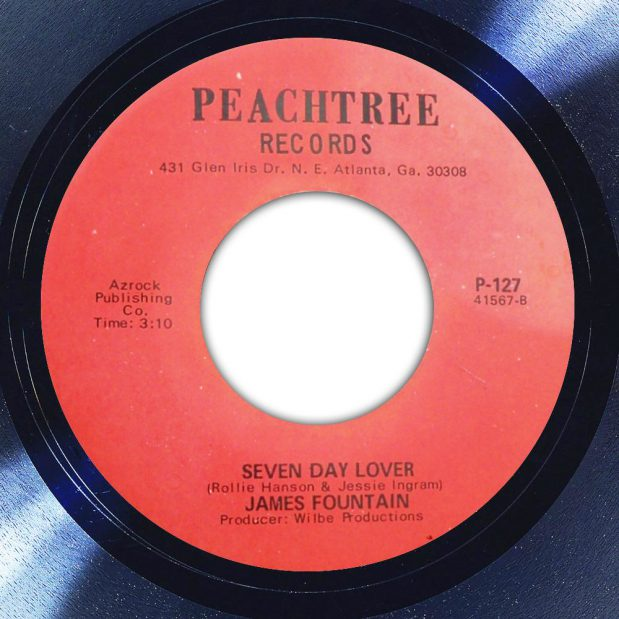 James Fountain Seven Day Lover Label The Face Song Of The Day