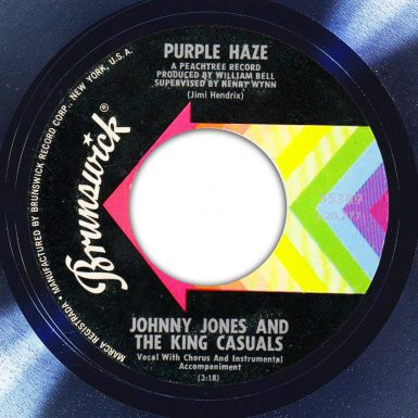 Johnny Jones and the King Casuals Purple Haze Label The Face Song Of The Day