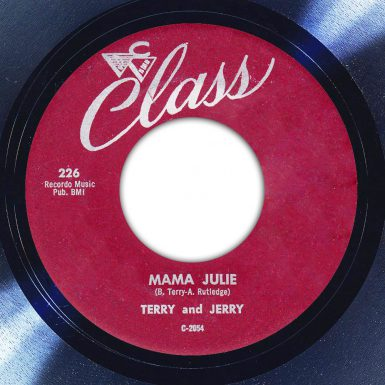 Terry and Jerry Mama Julie Label The Face Song Of The Day