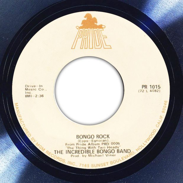 The Incredible Bongo Band Bongo Rock Label The Face Song Of The Day