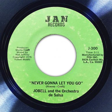 Jobell And The Orchestra De Salsa Never Gonna Let You Go Label The Face Song Of The Day