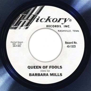 Barbara Mills Queen Of Fools Label The Face Song Of The Day