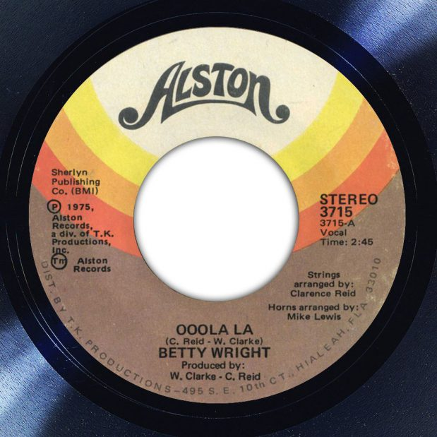 Betty Wright Ooola La Label The Face Song Of The Day
