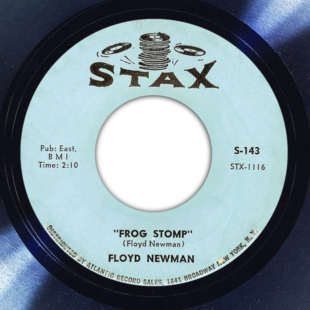 Floyd Newman Frog Stomp Label The Face Song Of The Day