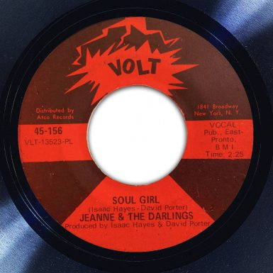 Jeanne & The Darlings Soul Girl Label The Face Song Of The Day