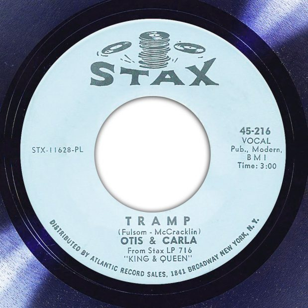 Otis & Carla Tramp Label The Face Song Of The Day
