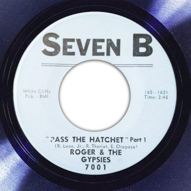 Roger & The Gypsies Pass The Hatchet Part 1 Label The Face Song Of The Day