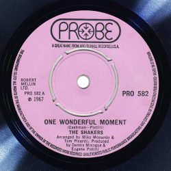 The Shakers One Wonderful Moment Label The Face Song Of The Day