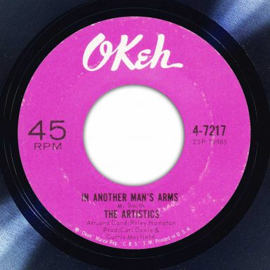 The Artistics - In Another Man's Arms