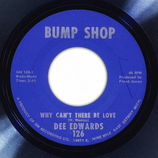 Dee Edwards - Why Can't There Be Love