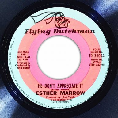 Esther Marrow ‎- He Don't Appreciate It