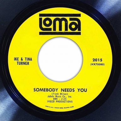 Ike & Tina Turner - Somebody (Somewhere) Needs You