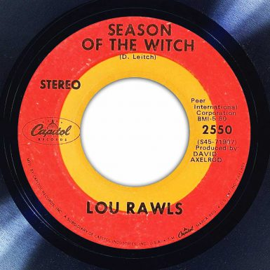 Lou Rawls - Season of The Witch