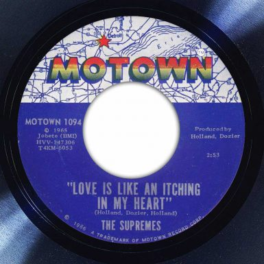 The Supremes – Love Is Like An Itching In My Heart