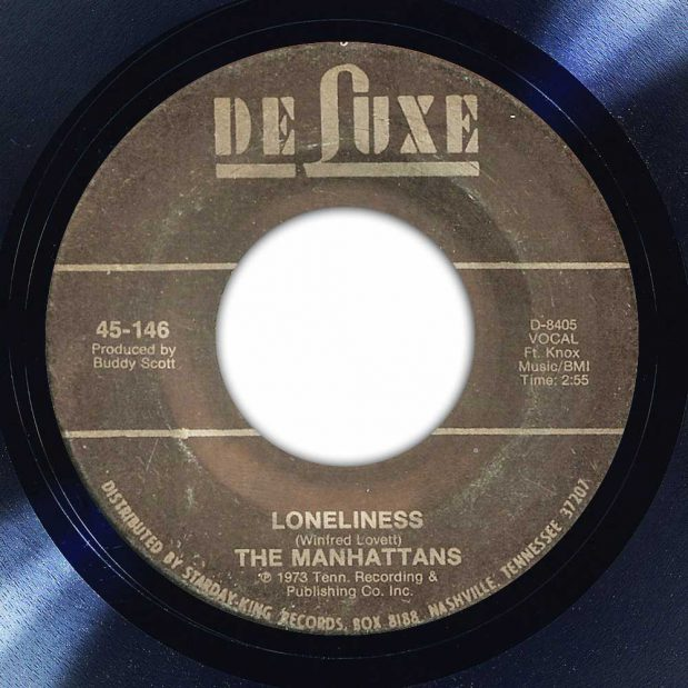 The Manhattans - Loneliness