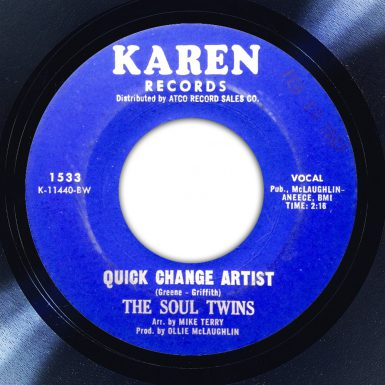 The Soul Twins - Quick Change Artist