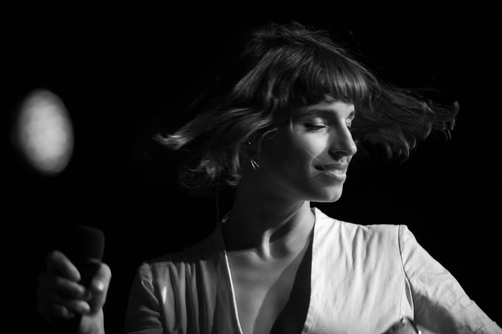 L'Impératrice Live at Elsewhere. Photo by Toby Tenenbaum