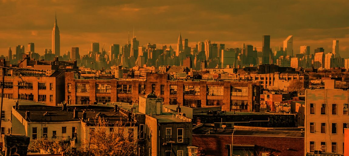 Bushwick NYC Skyline by Soul 45