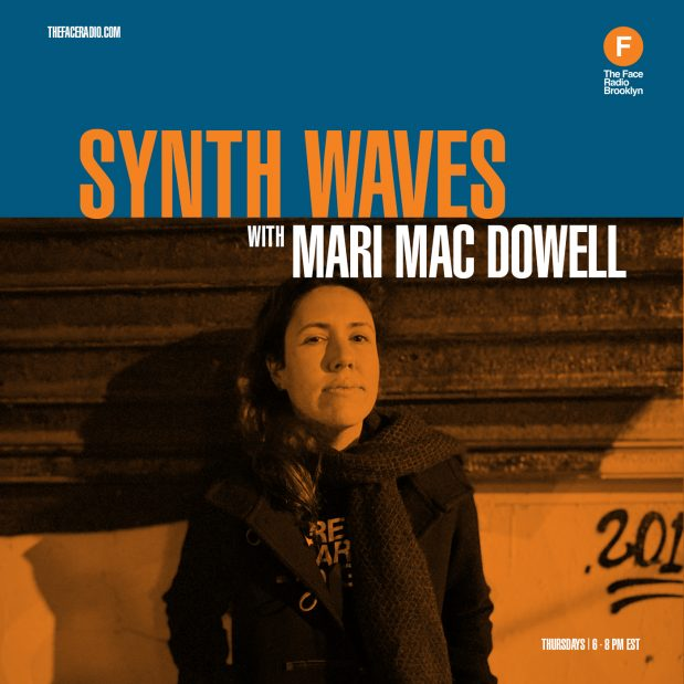 Mari Mac Dowell of Synth Waves on the Face Radio