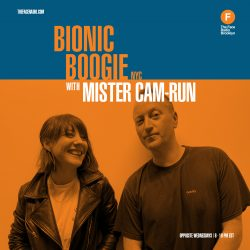 Bionic Boogie NYC with Mister Cam-Run. This week, Mister Cam-Run is joined by 79.5 founder and singer songwriter - Kate Mattison.